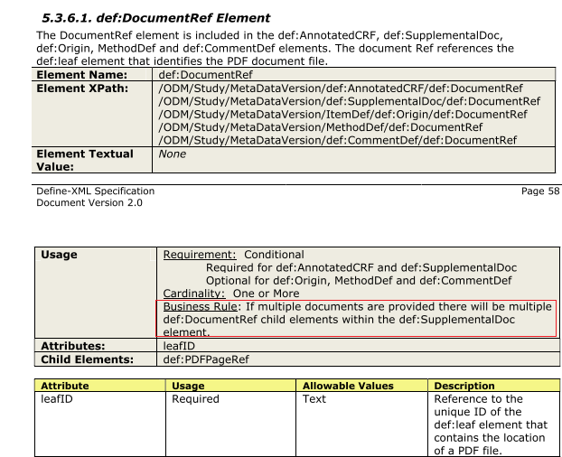 DD0078 - Document <document> is not referenced | Pinnacle 21